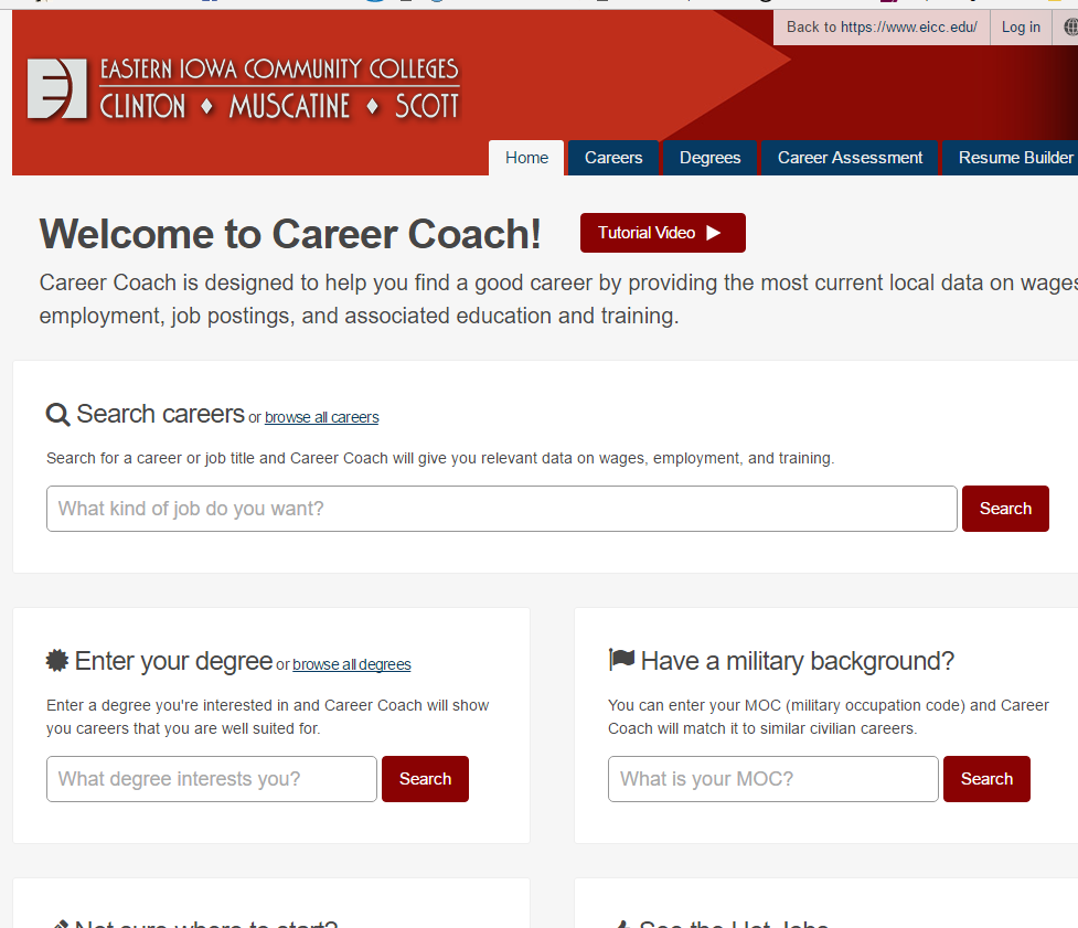 CareerCoach Screenshot